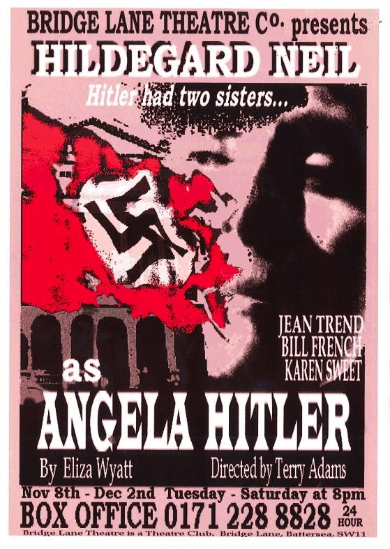 angela hitler poster